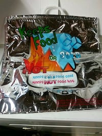 Hot and cold traveling bag for food (New) Glen Burnie
