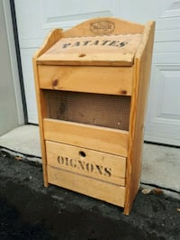 Wooden Vintage Vegetable Bin 776 km