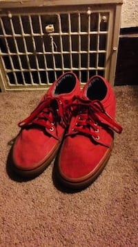 Pair of Red Vans Skateboard Shoes Size 10 Des Moines, 50312