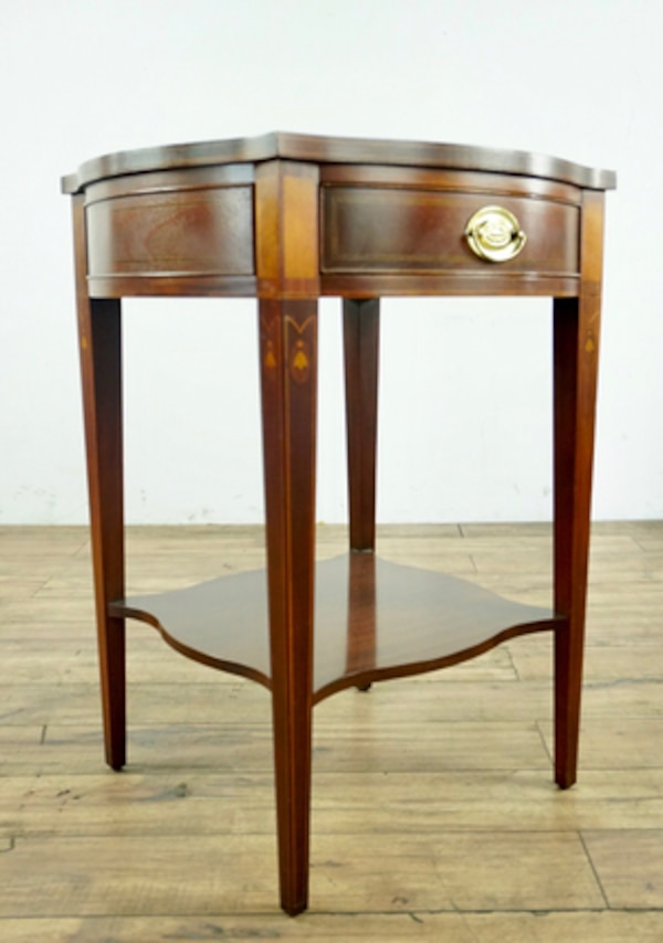 Used Baker Furniture Inlaid End Table 1015939 For In South San Francisco Letgo