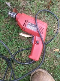 red and black corded power tool Springfield