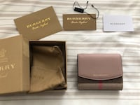 Burberry haymarket check and leather wallet  Alexandria, 22301