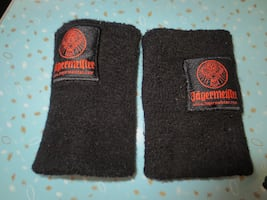 Brand New Jagermeister Terry Cloth Tall Wrist Bands