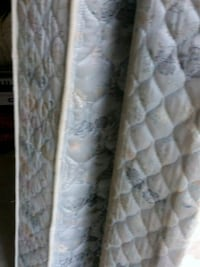 Queen Mattress Box Spring Rails and Head Board  Apple Valley