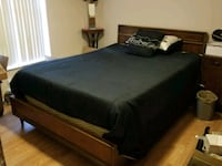 Full size bed with mattress and box spring Deltona, 32738
