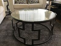 Coffee Table and Side Tables plus Lamps