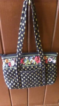 black and white floral tote bag Fayetteville, 37334