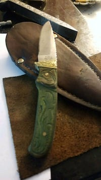 black and green pocket knife Augusta, 30909