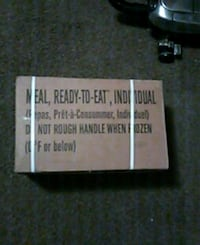 2 cases of MRE's $45 each or $80 for both Clarksville, 37042