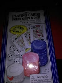 Texas hold'em tournament poker set. Findlay, 45840