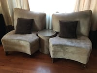 Sofa chairs with round table Los Angeles, 91326