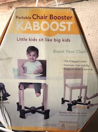 portable chair booster Los Angeles, 91401