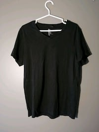 H&M V-neck tee - Black