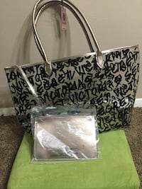 black and white leopard print tote bag Falls Church, 22042