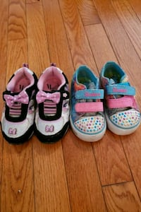 Toddler size 6 shoes, light wear 33 mi