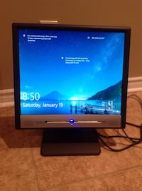 "Benq FP767 LCD Computer Monitor 17"" w/ built in audio speakers Bolton, L7E 1X7"