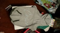 Cesar Milan Gray Doggie Hoodie - New - Size Large  Knoxville