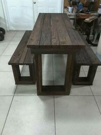 Vintage dining table, for costum made   Miami