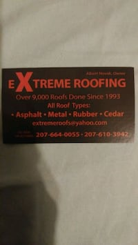 Extreme Roofing Ellsworth, 04605