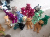 assorted TY Beanie Baby plush toys Comanche, 73529