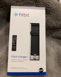 Fitbit Charge 2 - Size small, black band