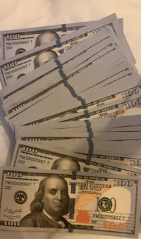 Movie money 10,000$ (not real)