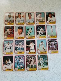 assorted baseball trading card collection Toronto, M8Z 2A2