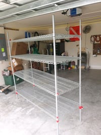 stainless steel baker's rack in good condition  Cape Coral