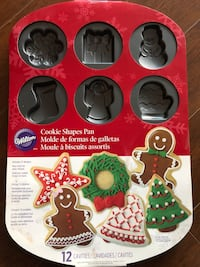 Wilton - Christmas Cookie shape pan Toronto, M5V 2K2