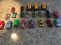 21 pieces hot wheels cars. Great condition. Market value 35 to 40 $  Brampton, L7A