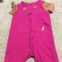 JUST REDUCED  MORE   pink jump suit 18 m  Rockville
