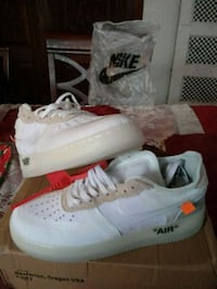 1982  Off White Air Force Ones 46 km