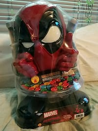DEADPOOL Halloween Candy Bowl And Holder