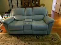 2 pieces- Leather Couch, loveseat, and recliner.  Palm Coast, 32164