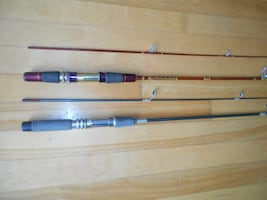 2 Ultralite Fishing rods Daiwa and Shimano