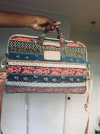 Laptop  crossbody bag Silver Spring