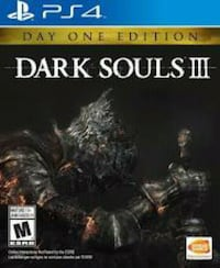 Sony PS4 Dark Souls 3 game case Rockport, 47635