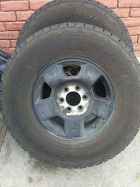 Two Ford tires in great condition  75 dlrs each Provo, 84601