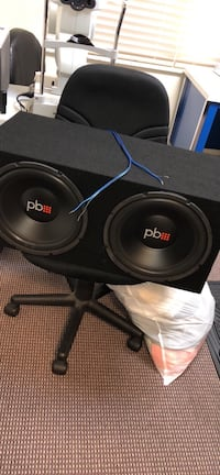 "12"" speakers with amp Cape Coral, 33991"