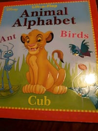 Disney Lift-a-Flap Animal Alphabet  Providence