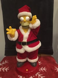 Talking Homar Simpson Santa Claus Woodbridge, 22193