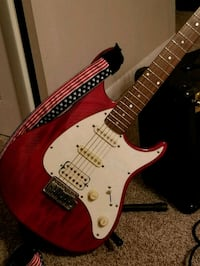 Peavey Raptor electric guitar and Marshall amp Evansville, 47711