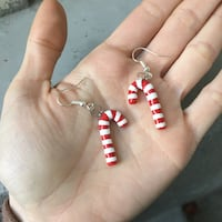 Christmas candy cane earrings Kelowna, V1Y 5Y3