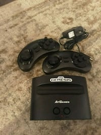 black Sega Genesis game console with controller Columbus, 43204