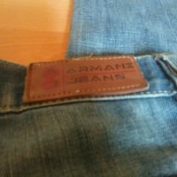 blue Levi's denim bottoms 3119 km