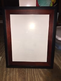 11x14 black and red picture frame