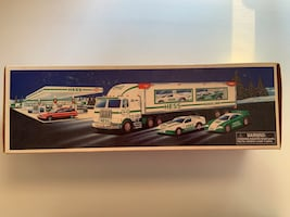 Hess Toy Truck and Racers