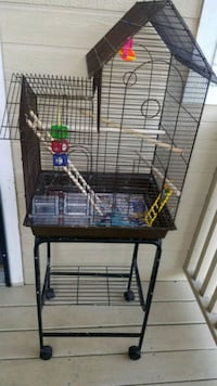 black metal wire pet cage Sacramento, 95817