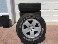 2012 JEEP WRANGLER TIRES & WHEELS Flagler Beach, 32136