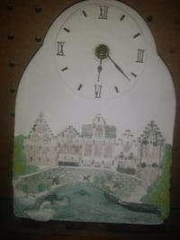 Clock From Brugge Belgium PURCELLVILLE